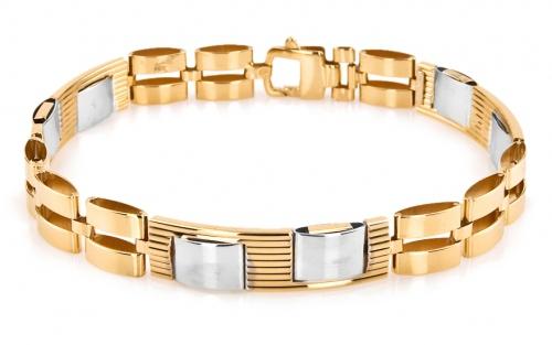 ad13e72f0 Hrubé zlaté náramky | iZlato.sk