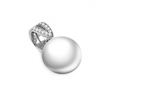 Diamantová súprava 0,130 ct Pearl Emotion - DB0033S
