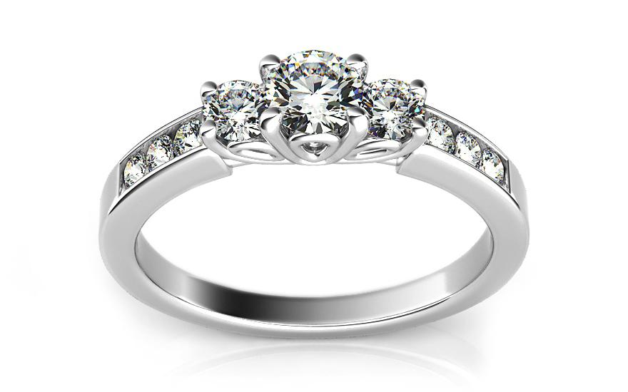 a21b2acf1 Luxusný zásnubný prsteň s diamantom 0,500 ct Marissa 2, pre ženy ...