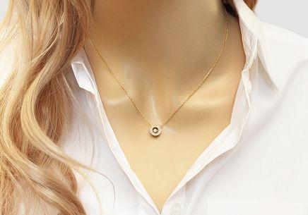 059df889ee3 ... Zlatý náhrdelník s diamantmi 0.140 ct Dancing Diamonds
