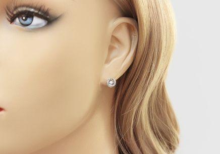 ... Diamantové náušnice z bieleho zlata 0.180 ct Dancing Diamonds 73f3c15a030