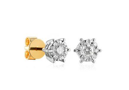 e065cb287 Diamantové náušnice pre ženy, šperk s diamantom, Victoria, Tokyo ...