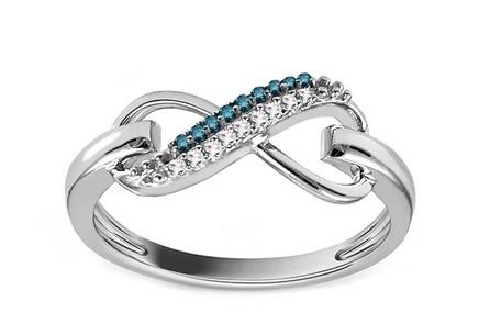 Diamantové zásnubné prstene s briliantom 9ef28497723
