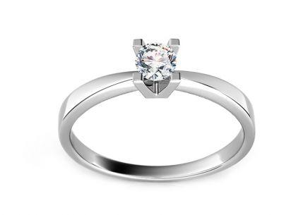 c0c6dde5d Zásnubný prsteň s 0,090 ct diamantom Promise 1 ...
