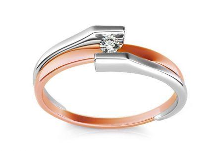 Zásnubný prsteň s diamantom 0 0c189ccc36f