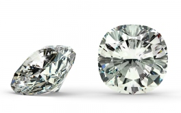 SI1 0.84 ct diamant certifikát GIA brus Cushion
