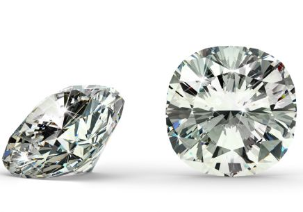 SI2 G 1.7 ct diamant certifikát HRD brus Cushion