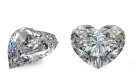 VS2 0.52 ct diamant certifikát GIA brus Heart