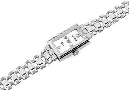 45178b240b8 Dámske hodinky z bieleho zlata Geneve ...