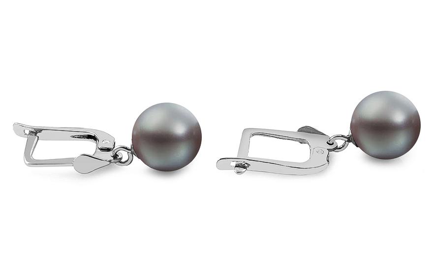 28026ae05 Luxusné náušnice Tahitskou perlou Eleanor, pre ženy (PE82) | iZlato.sk