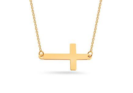 Zlatý náhrdelník s krížikom ... ee97fe0cbf0