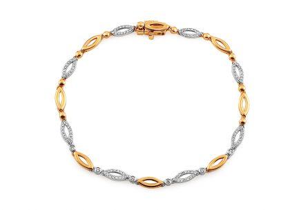 87c24995c Zlaté náramky - koncovky kolekcií, Sense, Palmyra   iZlato.sk