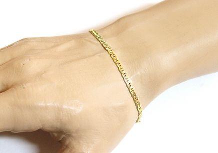 110cb0d45 Zlatý náramok retiazka Marina Gucci Zlatý náramok retiazka Marina Gucci