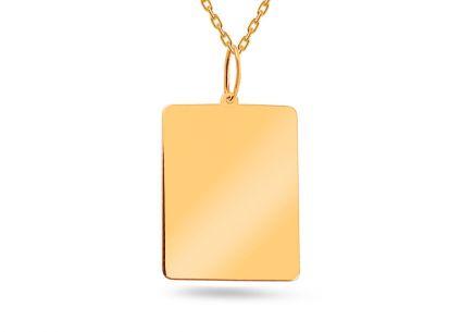 256e7b29c Zlaté prívesky na gravírovanie | iZlato.sk