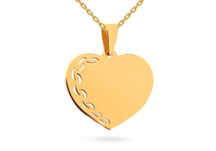 3bf3b8141 Zlaté prívesky srdiečko, Hearts | iZlato.sk