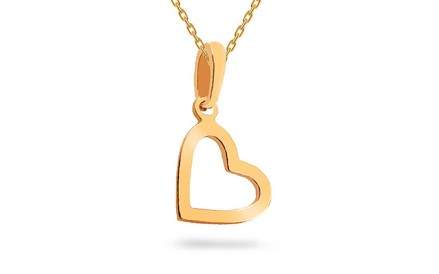 3028c3aae Prívesok srdce, pre ženy (IZ18368) | iZlato.sk
