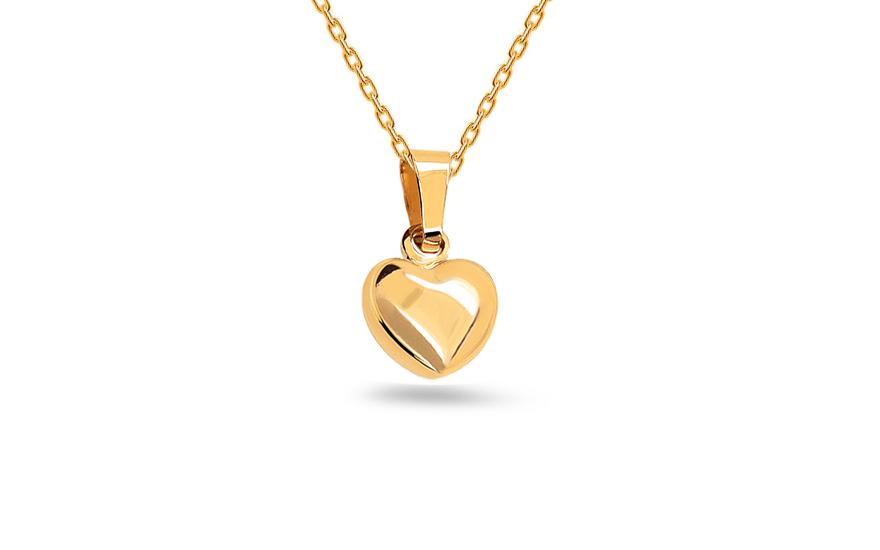 ddb89439c Prívesok srdce, pre ženy (IZ19422) | iZlato.sk