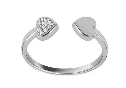 d9404b770 Zlaté prstene dámske s kameňom, Tokyo, Hearts, Infinity, Rose, Flexi ...
