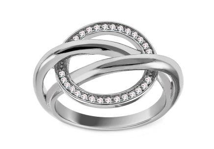 cf2c69f80 Dámske strieborné prstene s kameňom | iZlato.sk
