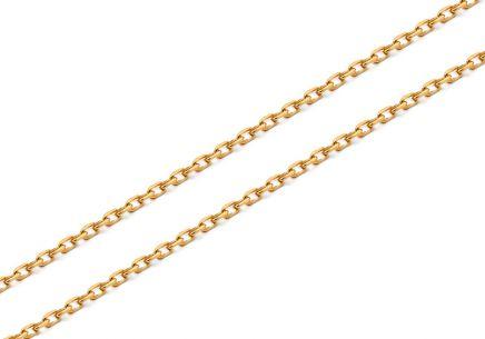 469c06d5f Zlatá retiazka Anker 0,8 mm, vhodná na diamantové prívesky ...