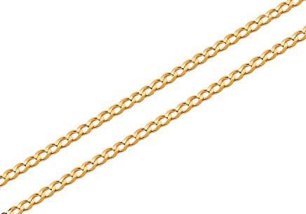 Zlatá plná retiazka Pancier 1 c93cabb506f