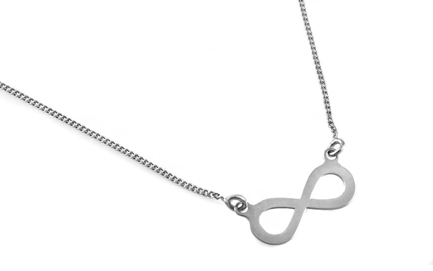 e1d55839c Strieborný náhrdelník nekonečno, pre ženy (IS958AN) | iZlato.sk