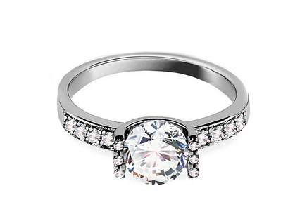 Zásnubný prsteň Magnificence Swarovski Zásnubný prsteň Magnificence  Swarovski f8e00eb35ed