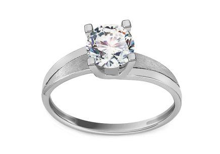 Zlatý zásnubný prsteň The most beautiful ... 5590c6fdd25