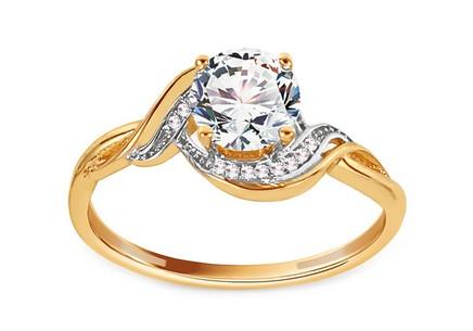 1cc105c6a Zásnubné prstene koncovky kolekcií, Kombinované zlato | iZlato.sk