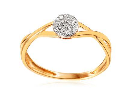 6ec8f978c Zlaté zásnubné prstene - Žlté zlato, pre ženy   iZlato.sk