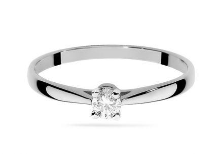 52c395202 ... Zlatý zásnubný prsteň s diamantom Belen white