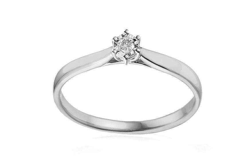 Zásnubný prsteň s diamantom Lawanda 2 white 14dd5944b78