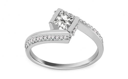 0a58066508 Zlaté prstene - Swarovski