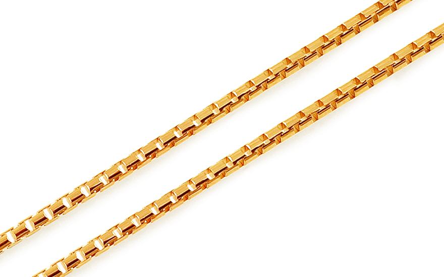 Zlatá retiazka lanko 1 mm 2ee0b2dc4fd