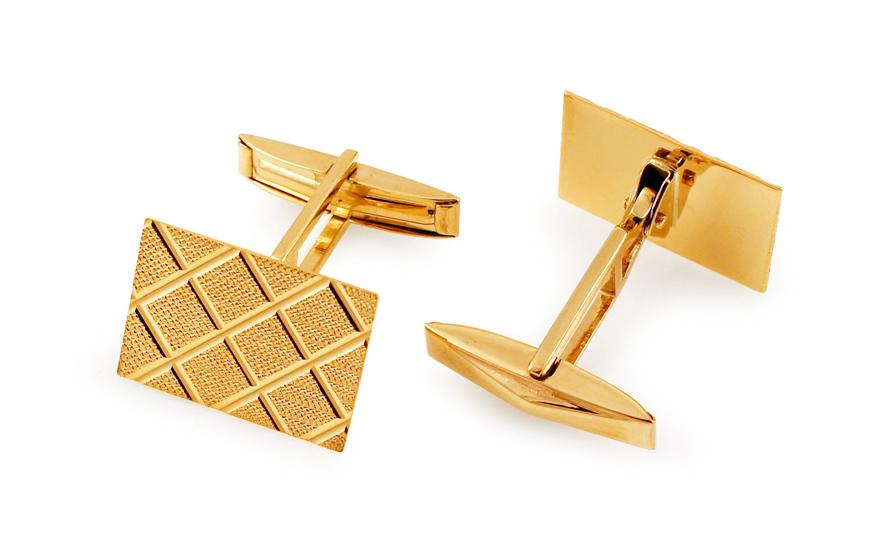 cbb4782c2b89 Zlaté manžetové gombíky