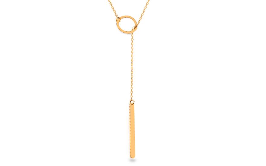 8a72979c0 Zlatý dámsky náhrdelník Celebrity, pre ženy (IZ14983) | iZlato.sk