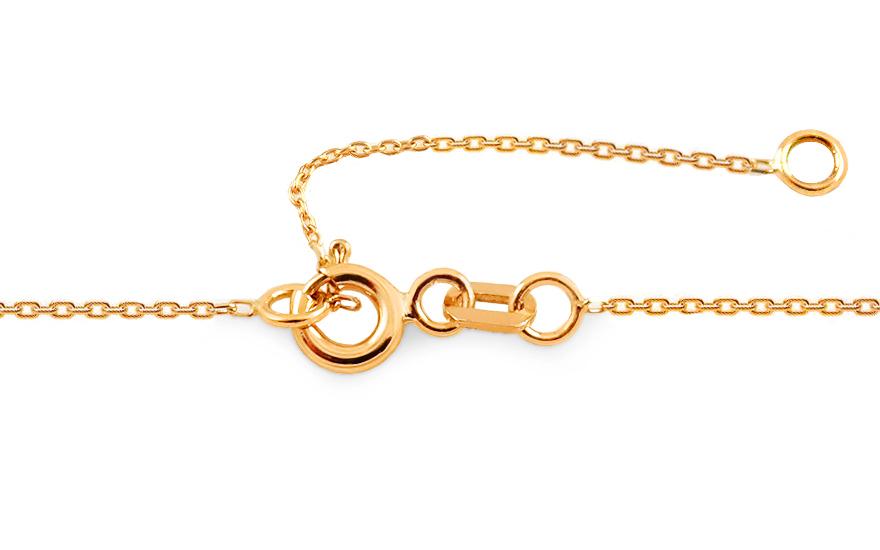 df05b01f9 Zlatý náhrdelník Origami psík, pre ženy (IZ15968) | iZlato.sk