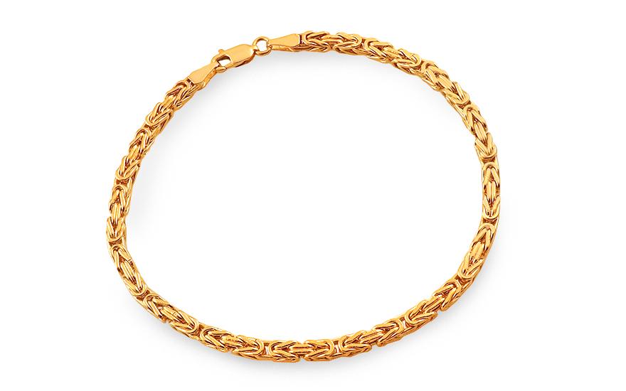 49829ce78 Zlatý náramok kráľovský vzor 3,3 mm, pre mužov (IZ6307N)   iZlato.sk