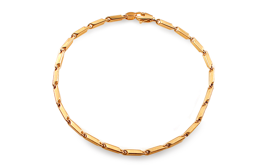 9c4fd7470 Zlatý náramok Leon, pre mužov (IZ12834N) | iZlato.sk