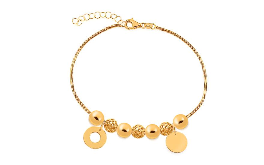 b5095dc82 Zlatý náramok s krúžkami Palmyra, pre ženy (IZ17370Y) | iZlato.sk