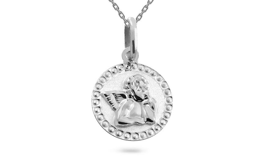 Zlatý prívesok Anjelik s gravírom 588b8f3abcd