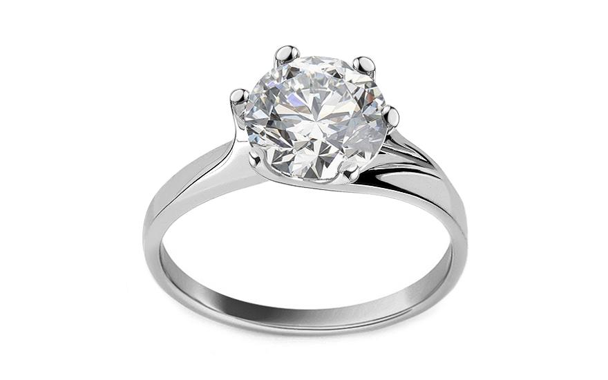 Zlatý zásnubný prsteň Nice 0442aab0f3c