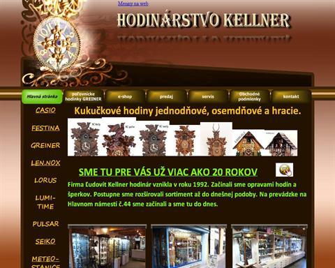 fea980d57e Zlatníctvo  Hodinárstvo Kellner