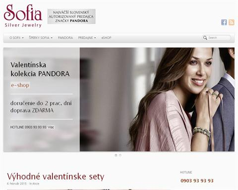 Zlatníctvo  SOFIA Silver Jewelry Žilina  4a16c1361e8