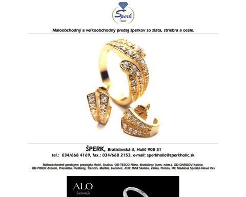 a1b22e44d Zlatníctvo: Šperk, Prešov | iZlato.sk