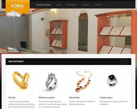 4a0a5609a Zlatníctvo: Zlatníctvo Koral | iZlato.sk