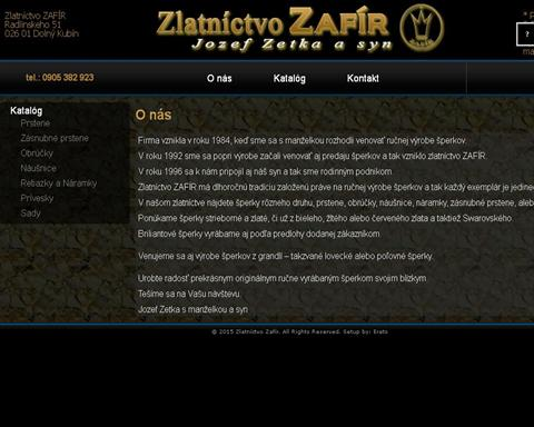 Zlatníctva  okres Žilina  48663719584